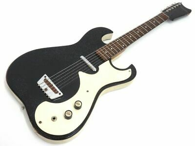 $ CDN2437.48 • Buy Silvertone 1448 AMP IN CASE '64 Black Electric Guitar