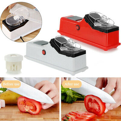 $ CDN20.62 • Buy Automatic Knives Whetstone Sharpening Stone USB Electric Knife Sharpener
