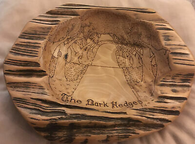 £169 • Buy Unique Dark Hedges Game Of Thrones Kingsroad Pyrographed Beech Bowl