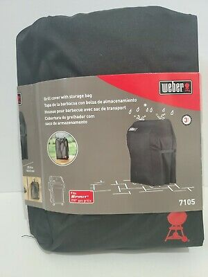 $ CDN41.21 • Buy WEBER 7105 Grill Cover For Spirit 210 Gas Grills With Storage Bag