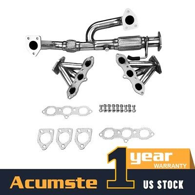 $135.99 • Buy Stainless Header Exhaust Manifold For 98-02 Honda Accord / 99-03 Acura TL/CL