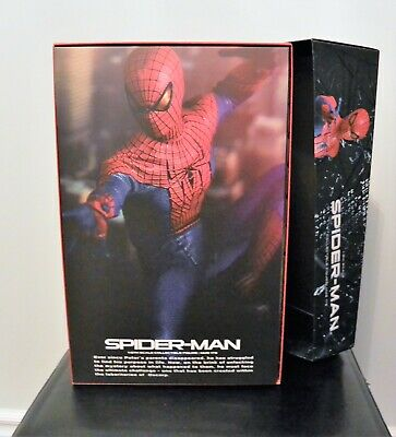 $ CDN349.99 • Buy Hot Toys MMS 179 Amazing Spiderman 1/6th Scale Andrew Garfield Used For Display