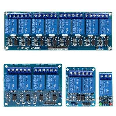 AU7.95 • Buy 5V 1/2/4/8 Channel Relay Board Module Optocoupler LED For Arduino PiC ARM AVt8