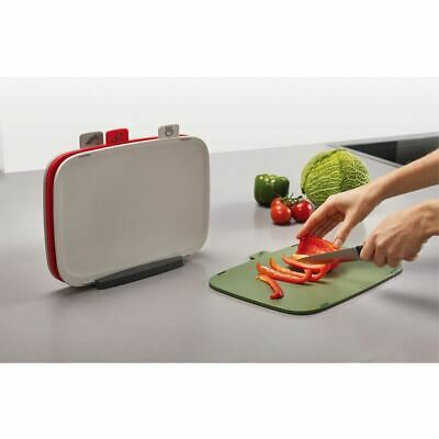 AU34.95 • Buy Joseph Joseph - Duo Set Of 4 Chopping Boards With Storage Stand