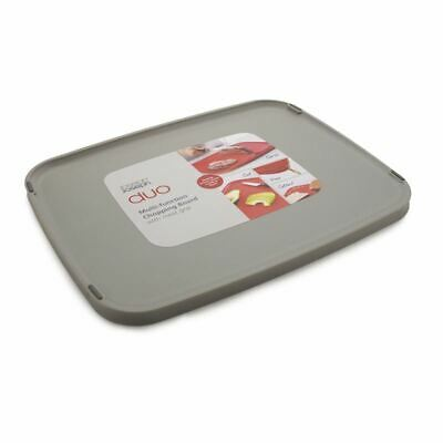 AU14.95 • Buy Joseph Joseph - Duo Multi-Function Chopping Board 27.1x34.7x1.5cm Grey