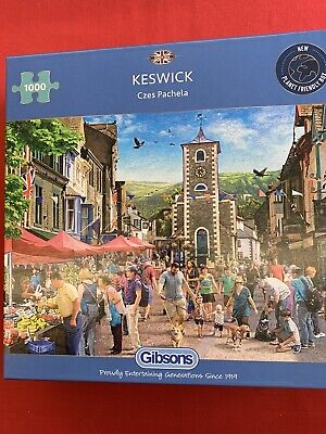 Gibsons 1000 Piece Puzzle, Keswick, NEW FOR 2021 • 16£
