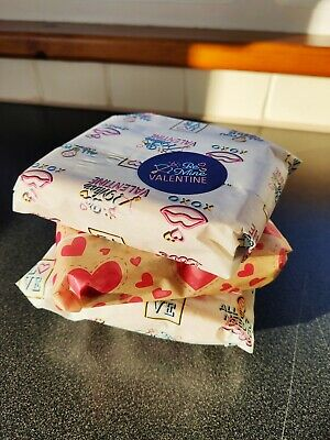 £7.20 • Buy Greaseproof Paper Sheets Parchment Non Stick Food Wrapping Paper Love Design