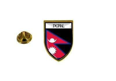 Pins Pin Badge Pin's Souvenir City Flag Country Coat Of Arms Nepal Nepalese • 4.35£