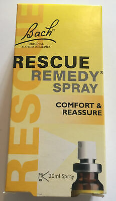 BACH RESCUE REMEDY SPRAY /20ML /COMFORT & REASSURE (day) Long Expiry Date • 6.99£