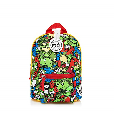 Multi Dino Toddler Kids Children Mini Backpack Rucksack With Reins Girl Boy • 21.83£