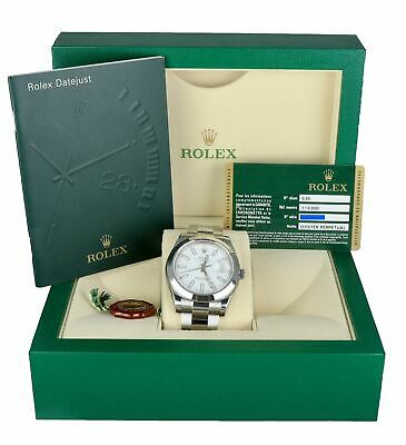 $ CDN11289.72 • Buy NEW NOS 2013 Rolex DateJust II 41mm 116300 White Smooth Stainless Oyster Watch