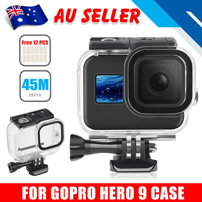 AU26.95 • Buy Waterproof Housing Case Diving Protective Cover For GoPro Hero 9 Action Camera