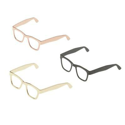 $8.67 • Buy 1/6 Scale Metal Oblate Glasses Frame For 12'' Male & Female TTL Enterbay