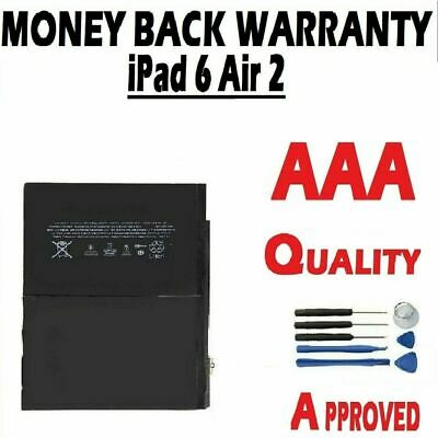 £11.65 • Buy Genuine Quality Battery For IPad Air 2 (IPad 6) Replacement 7340mAh High Grade