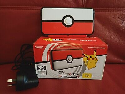 AU350 • Buy New Nintendo 2DS XL Pokeball Edition - USED - GOOD CONDITION