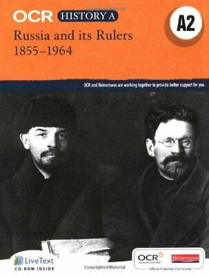 OCR A Level History A: Russia And Its Rulers 1855-1964 New Paperback Book • 31.33£