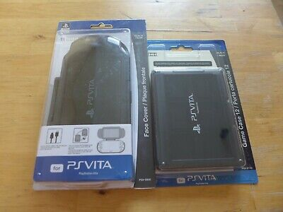 £18.15 • Buy Set Of Hori Face Cover Case For PlayStation PS Vita PCH-1000 & Game Card Case 12