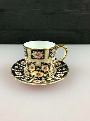 Royal Crown Derby Imari 2451 Pattern Coffee Cup And Saucer • 24.99£