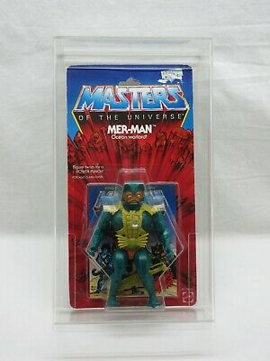 $5000 • Buy MOTU,VINTAGE,MER-MAN,8-BACK,GREEN BELT,Masters Of The Universe,MOC,Sealed,He-Man