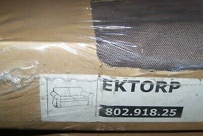 NEW Ikea EKTORP Two [2] Seat Sofa  COVER SET In Kniva Brown 802.918.25 • 90£