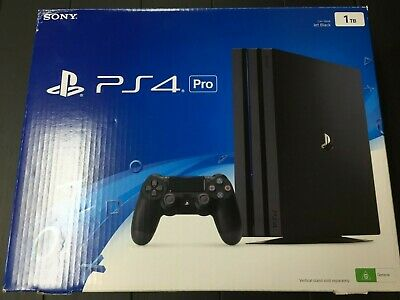 AU56.95 • Buy Sony Playstation PS4 PRO 1TB Black - BOX ONLY NO CONSOLE - Good Condition