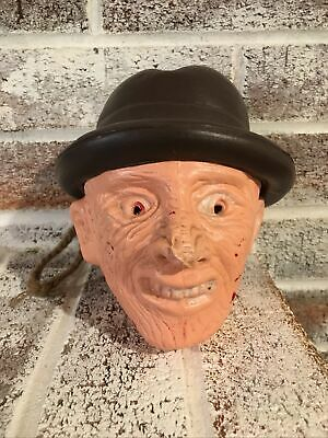 $ CDN37.49 • Buy Bootleg Freddy Krueger Blow Mold Candy Container Bank Halloween Vintage Monster
