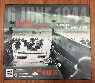 £6.99 • Buy The D-Day Experience WW2 Book By Richard Holmes With Audio CD & Documents