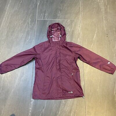 Women's Peter Storm Waterproof Rain Jacket In Purple Size UK 12 • 27.99£