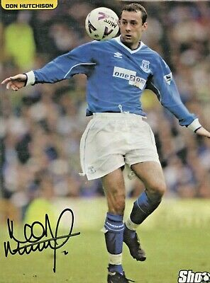 £4.99 • Buy Don Hutchison (Everton) Signed Picture