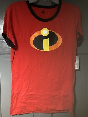 Disney Incredibles Ladies T-shirt Size L  Shop Disney New • 6£