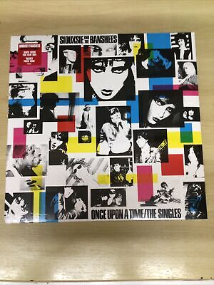 Siouxsie And The Banshees-clear Vinyl Lp-once Upon A Time/the Singles-m/sealed • 44.49£