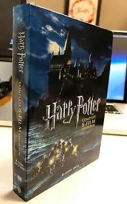 $ CDN25.25 • Buy Harry Potter: Complete 8-Film Collection (DVD, 2011, 8-Disc Set) Free Shipping!