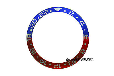 $ CDN17.80 • Buy High Quality Pepsi Blue & Red White Numbers Bezel Insert For Rolex Gmt Master Ii