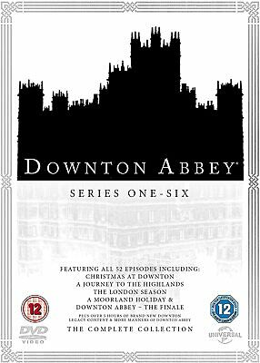 Downton Abbey - The Complete Collection Series 1-6 [DVD] New Sealed • 25.99£