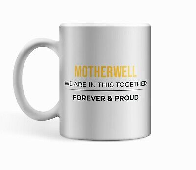 £6.99 • Buy Motherwell FC Proud White Ceramic 11oz Cup/Mug.Ideal Football Fan Gift