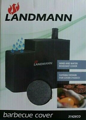 NEW Genuine LANDMANN Barbecues 31426CO KENTUCKY SMOKER BARBECUE COVER BBQ- Grey  • 34.99£
