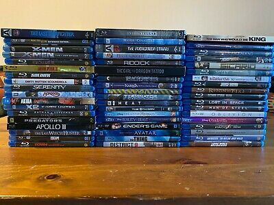 Blu-Ray Movie Lot - 54 Titles - Choose What You Want! • 14.18£