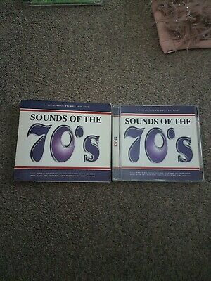 Sounds Of The 70's  ( 2 Disc Cd Album Original Artists  • 5£