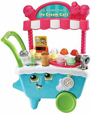 Leap Frog Scoop & Learn Ice Cream Cart Light And Sound Interactive • 24.99£
