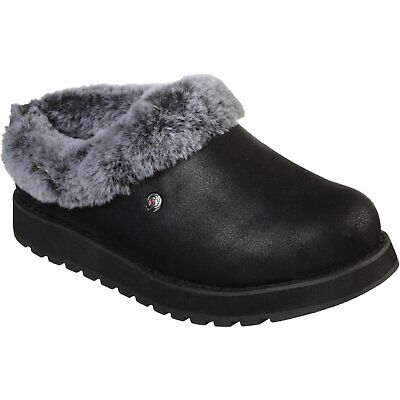 ***ladies Bobs Skechers R E M Black Memory Foam Slippers Uk 7 (31214)*** • 45.99£
