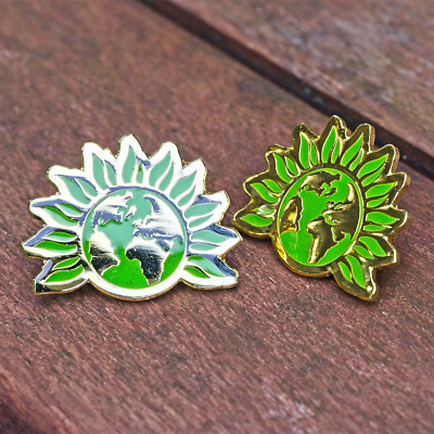 £2.50 • Buy Official Green Party Of England & Wales (GPEW) Enamel Lapel Pin Badge