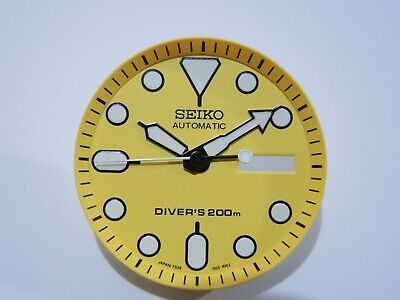 $ CDN27.77 • Buy New Replacement Seiko Yellow Dial,minute Track & Hands, Fits Seiko Skx007 Diver