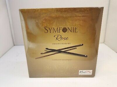 KnitPro Symfonie Rose Crochet Hook Deluxe Set D050000071527lh • 45£