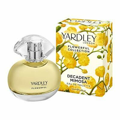 Yardley Of London Decadent Mimosa EDT/Eau De Toilette Perfume Fragrance For Her • 22.58£