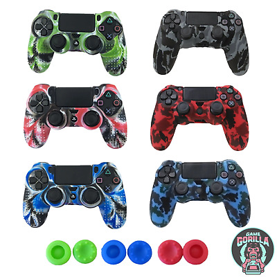 AU9.32 • Buy PS4 Silicone Controller Case Camouflage Skin Army Cover For PlayStation 4 / Pro