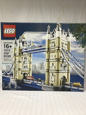 Lego Creator 10214 - Tower Bridge - Brand New!! Sealed!! Unopened!! • 232.46£