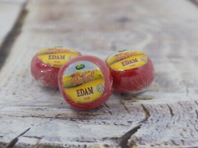 £1.30 • Buy  Dolls House Miniature Edam Cheese Wrapped-food-1:12 Scale-accessories-butchers