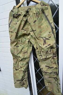 MTP CAMO PETROLEUM PROTECTIVE SALOPETTE TROUSERS Sizes British Army NEW