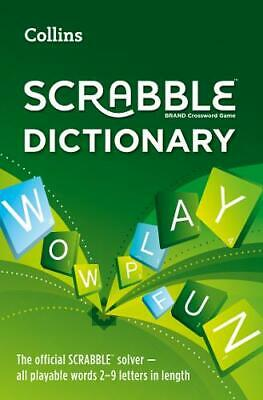 £5.52 • Buy Collins Scrabble Dictionary: The Official Scrabble Solver - All Playable Words 2