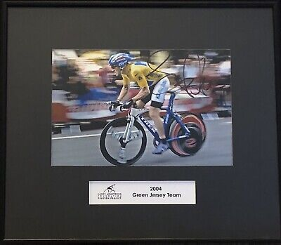 £58.17 • Buy Lance Armstrong Autographed Photograph Livestrong
